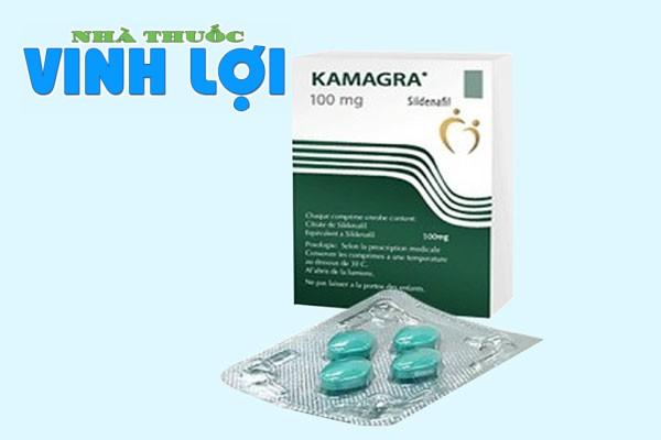 Thuốc bổ thận tráng dương tăng cường sinh lực Kamagra