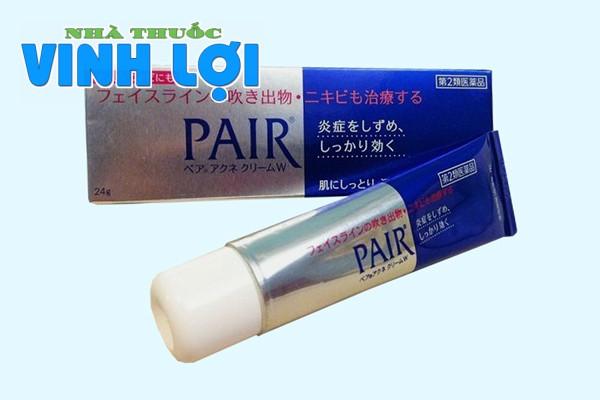 Hình ảnh kem trị mụn Pair của Nhật