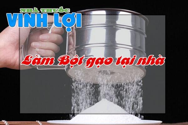 Cách sử dụng bột cám gạo tại nhà