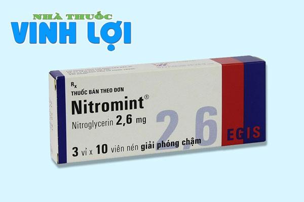 Nitromint là thuốc gì?