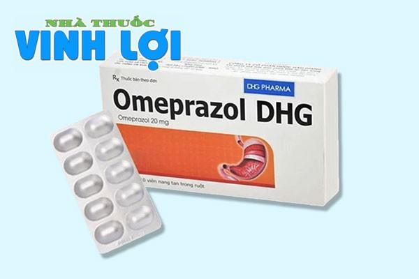Tìm hiểu về thuốc trị đau dạ dày Omeprazol