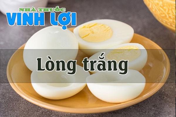 Lòng trắng trứng nguyên chất