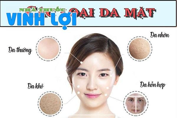 Những loại da mặt thông thường