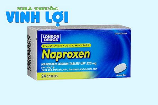 Naproxen chống viêm phi steroid