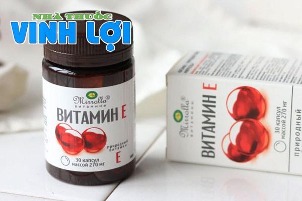 Vitamin E đỏ của Nga có hàng giả không? Cách phân biệt