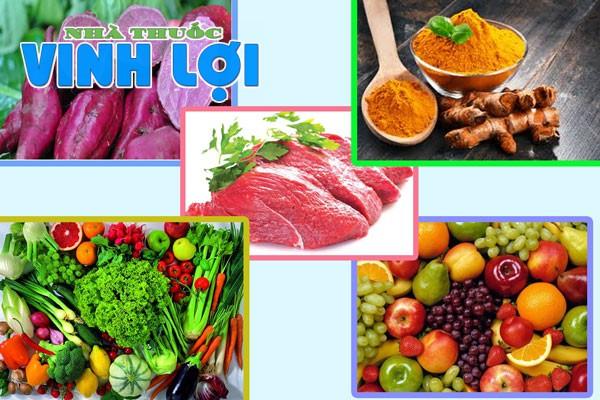 Các thực phẩm bỏ xung dưỡng chất cho người bị trầy xước da