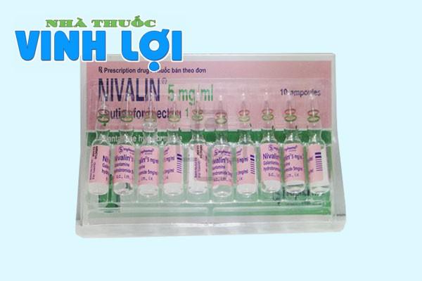 Hình ảnh thuốc Nivalin 5mg/ml dạng tiêm