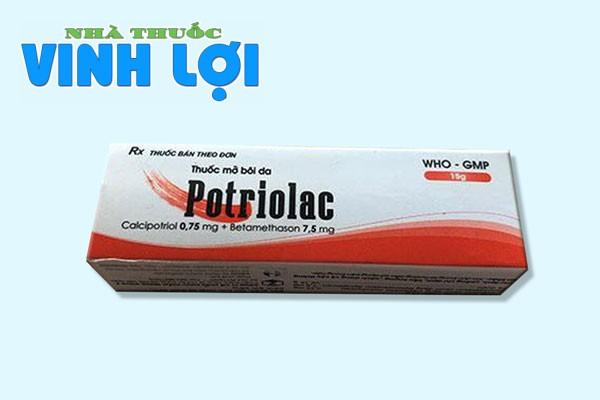 Tìm hiểu về thuốc bôi trị viêm da Potriolac