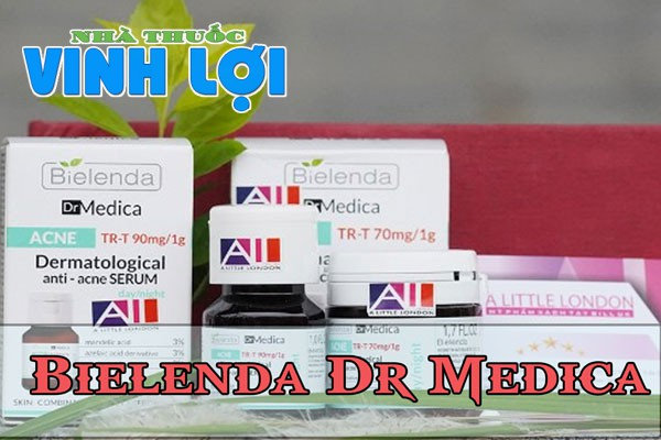 Serum trị thâm mụn Bielenda Dr Media Dermatological Anti Acne Face Serum