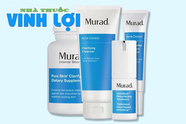 Tìm hiểu về bộ sản phẩm trị mụn toàn diện của thương hiệu Murad