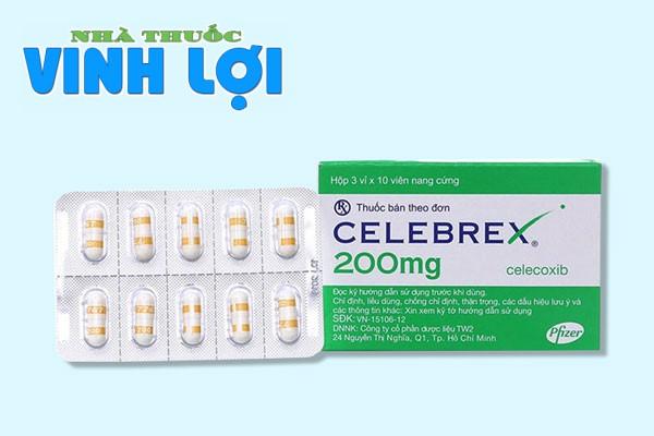 Thuốc Celebrex 200mg là thuốc gì?