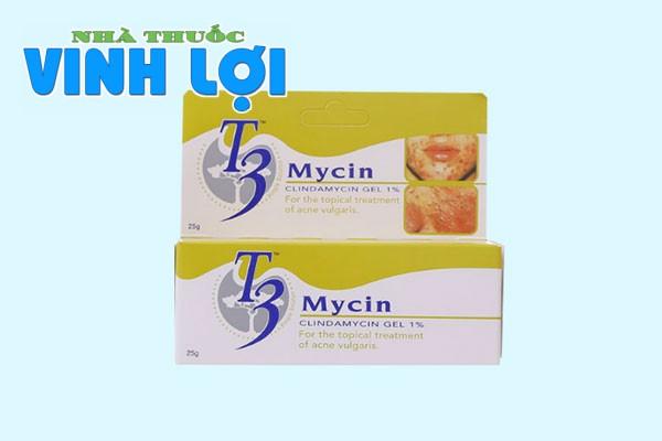 Chống chỉ định của T3 Mycin Gel
