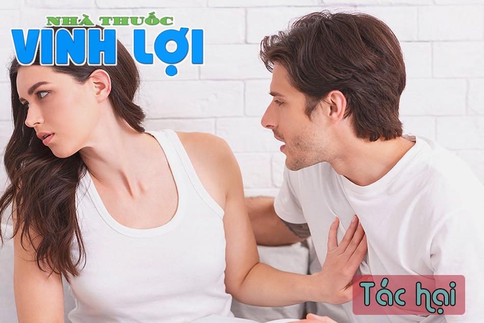 Tác hại quan hệ khi có kinh