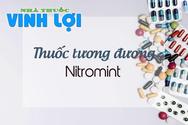 Một số thuốc tương đương như Ivabradin, Trimetazidin, Nicorandil.