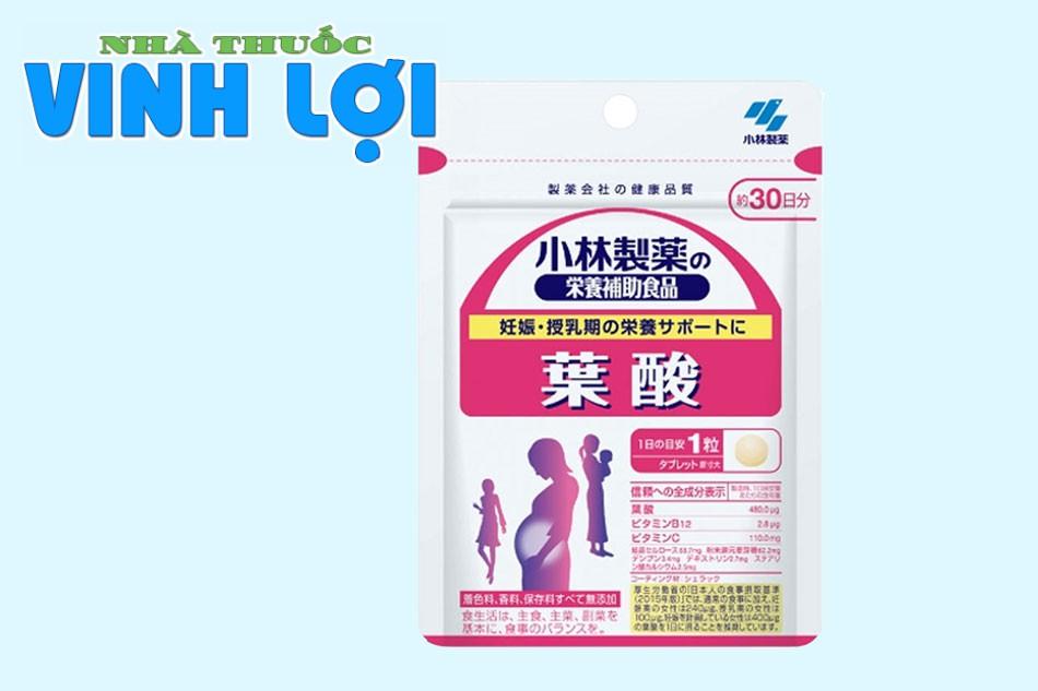 Thuốc bổ tổng hợp cho bà bầu Kobayashi Pregnancy của Nhật