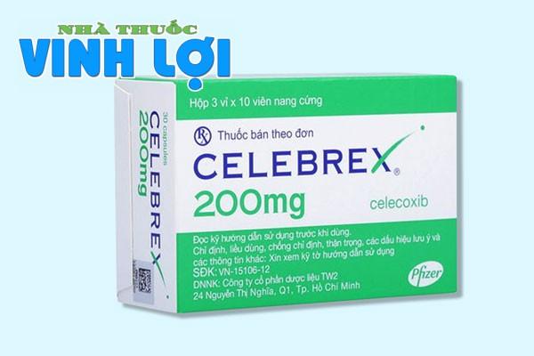Tìm hiểu về thuốc chống viêm xương khớp Celebrex 200mg