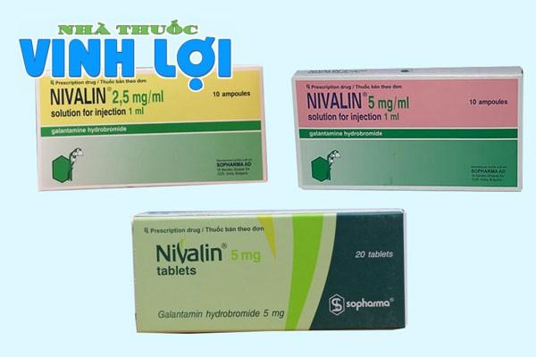 Thuốc Nivalin