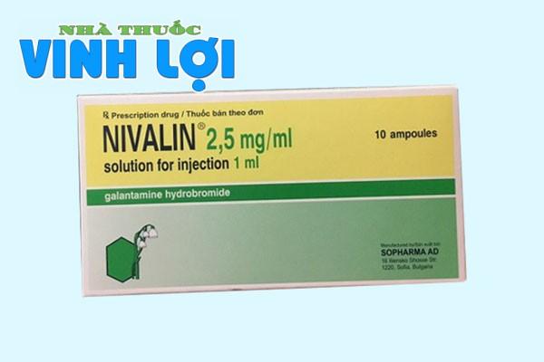 Hình ảnh thuốc Nivalin 2,5mg/ml dạng tiêm