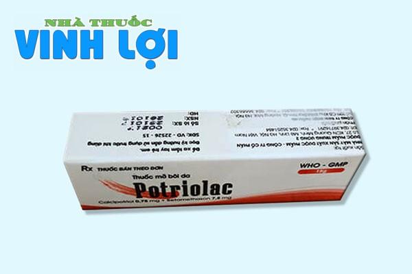 Thuốc Potriolac là thuốc gì?