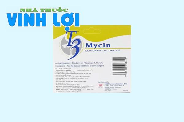 Thành phần của T3 Mycin gel