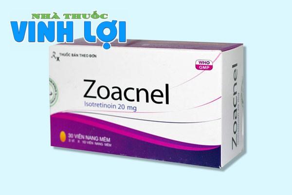 Zoacnel là thuốc gì?