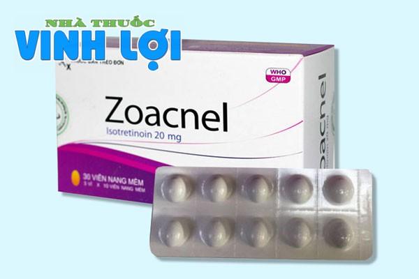 Tìm hiểu về thuốc trị mụn Zoacnel