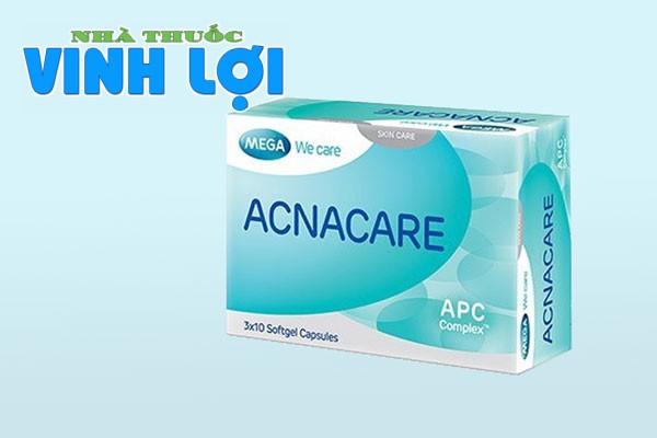 Acanacare- viên uống trị mụn