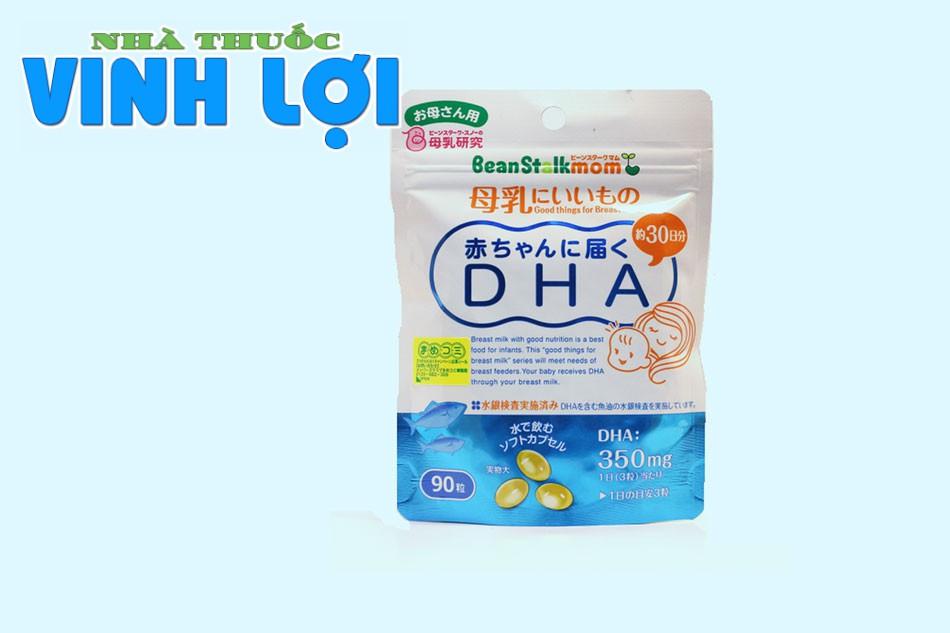 Viên uống bổ sung DHA cho bà bầu BeanStalkmom của Nhật