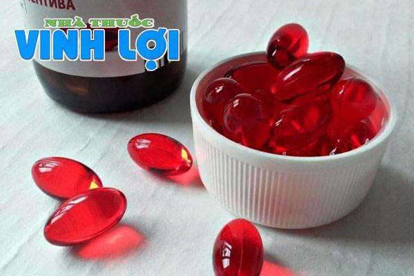 Vitamin E đỏ là một loại thực phẩm chức năng, với công dụng chính cung cấp vitamin E