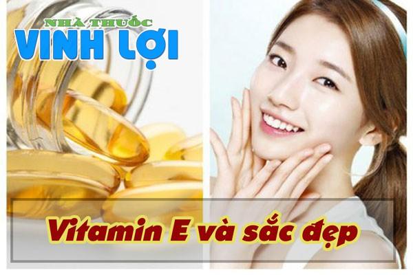 Vitamin E - điều cần thiết cho phái đẹp