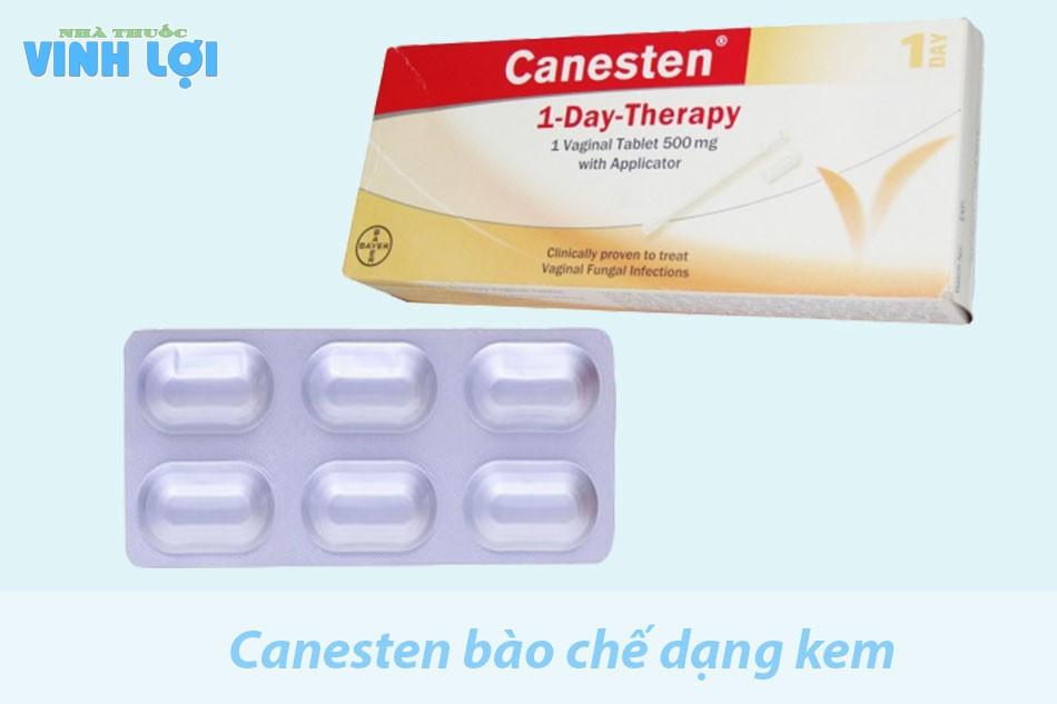 Hướng dẫn sử dụng Canesten