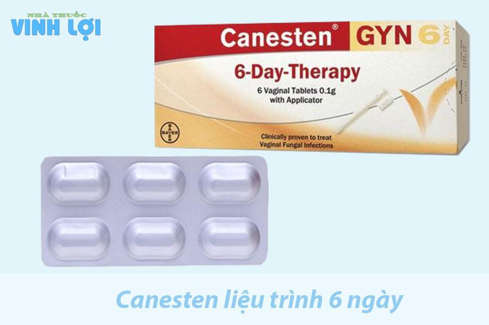 Thuốc Canesten một liệu trình là bao nhiêu ngày?