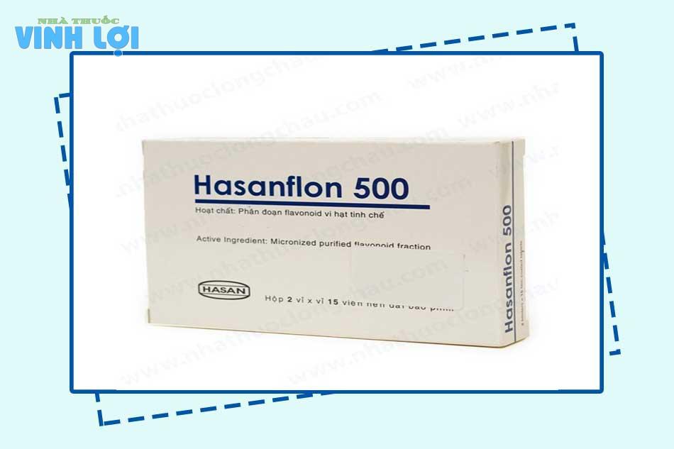 Chống chỉ định của thuốc Hasanflon
