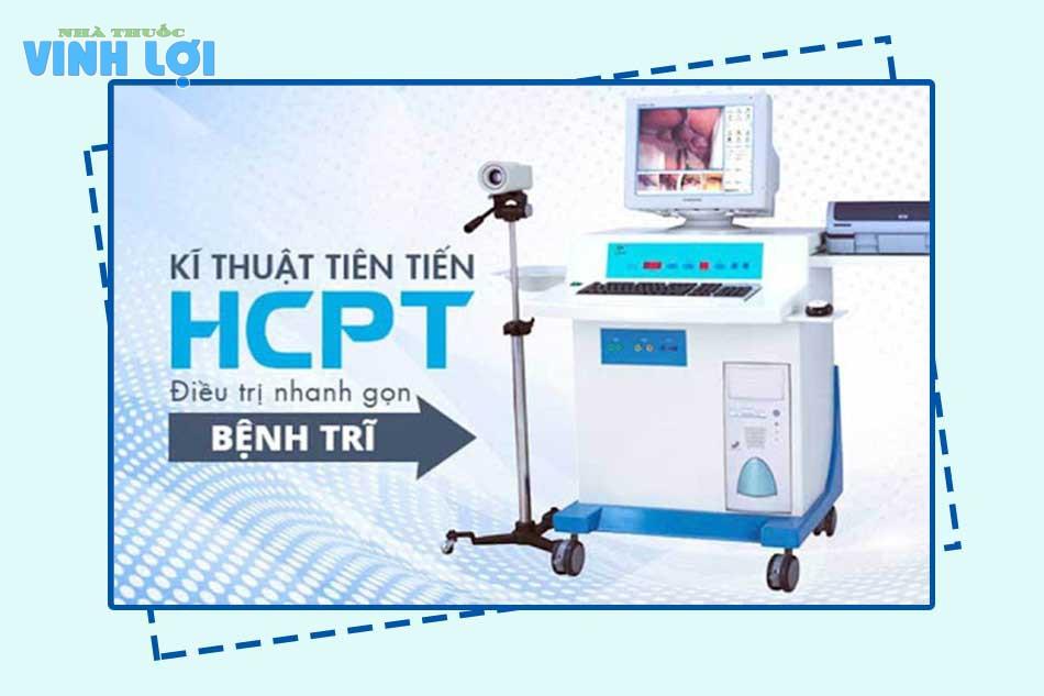Phẫu thuật cắt mổ trĩ bằng phương pháp HCPT (dùng sóng cao tần)