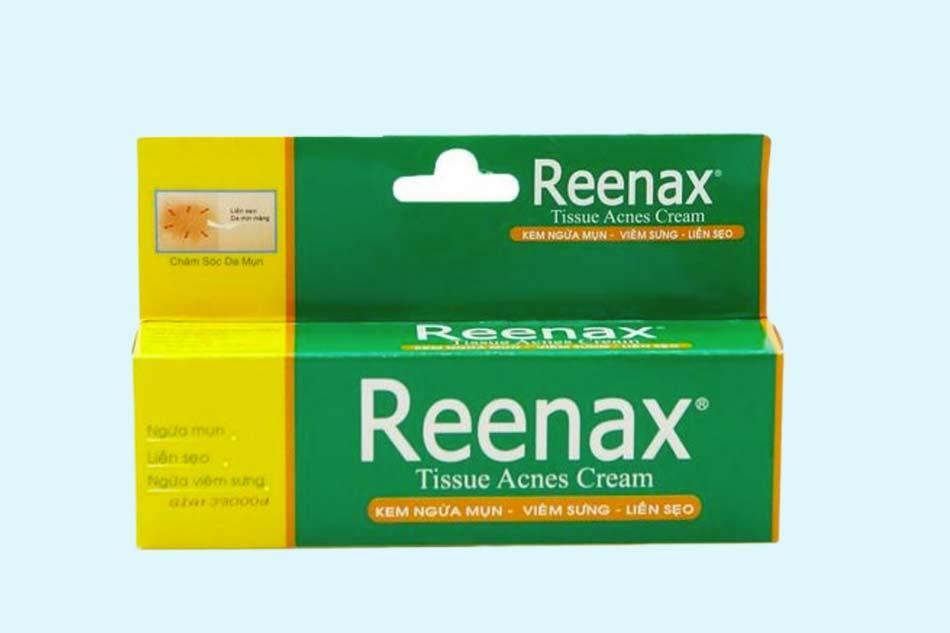 Kem trị mụn Reenax mua ở đâu Hà Nội, TPHCM?