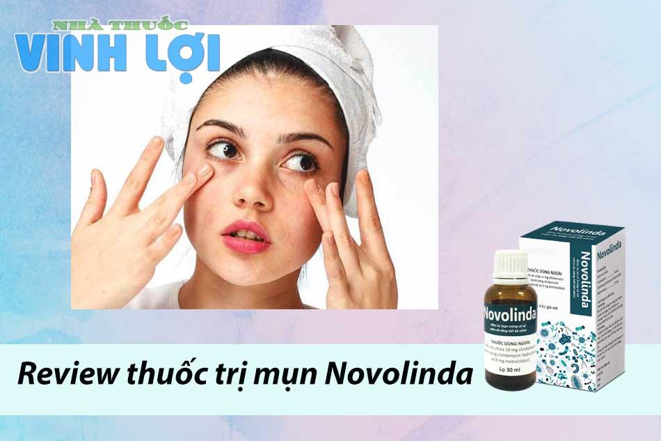 Review thuốc trị mụn Novolinda