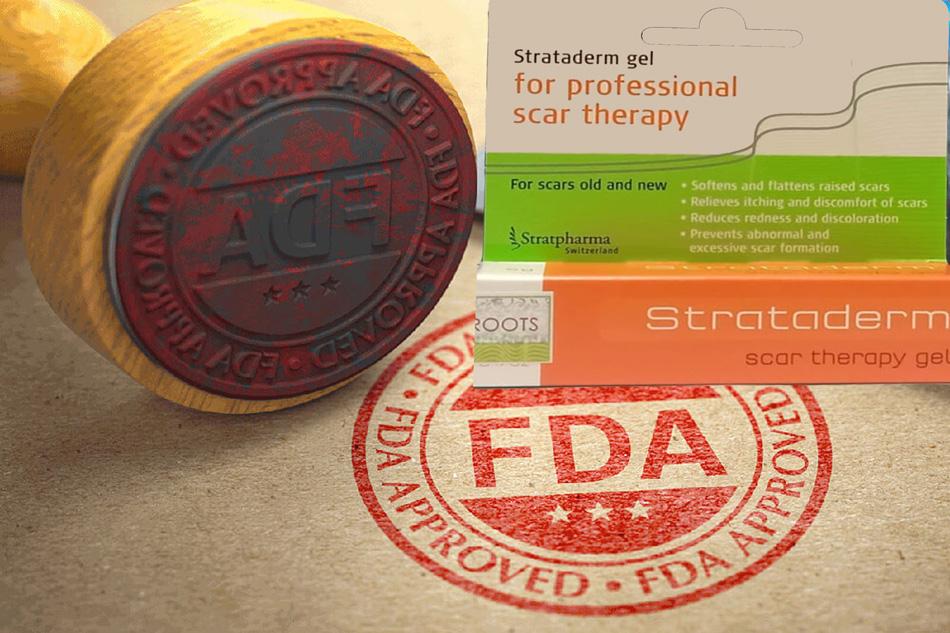 Strataderm được chứng nhận bởi các tổ chức quốc tế uy tín như EU hay FDA Hoa Kỳ về công dụng.