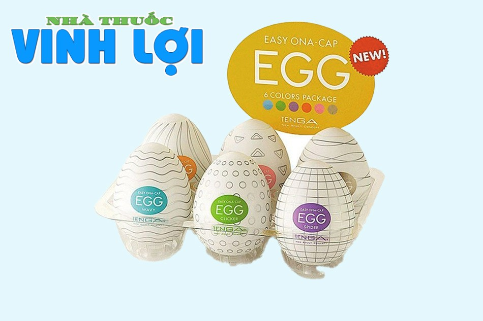Dụng cụ thủ dâm nhỏ gọn Tenga Egg Pack