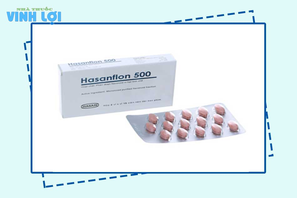 Thuốc Hasanflon 500 giá bao nhiêu?