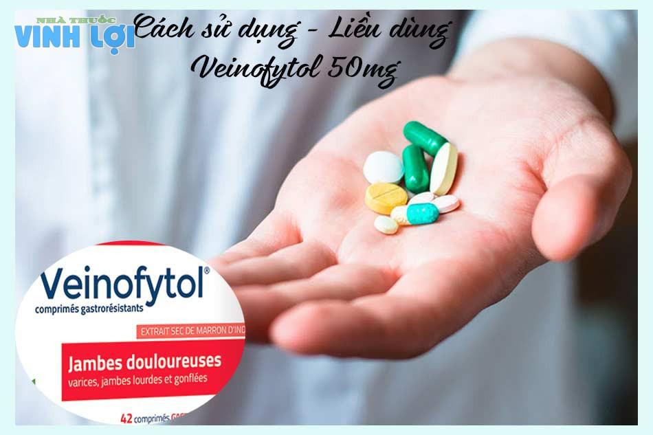 Cách sử dụng - Liều dùng của thuốc Veinofytol 50mg