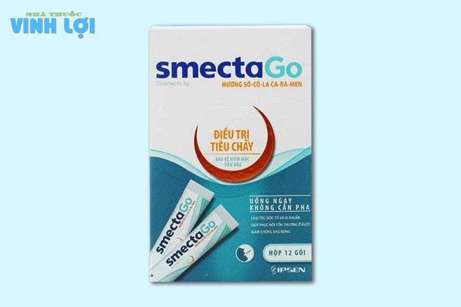 Tương tác thuốc Smecta Go