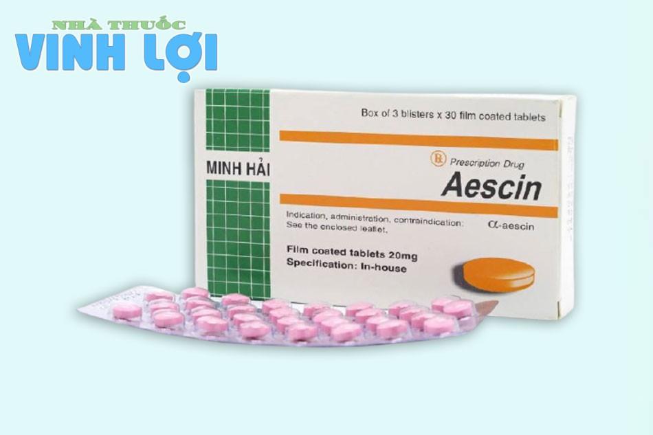Công dụng - Chỉ định của thuốc Aescin