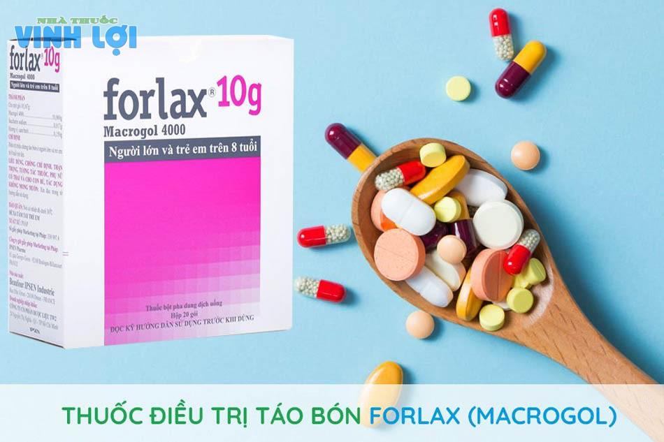 Tác dụng của thuốc Forlax