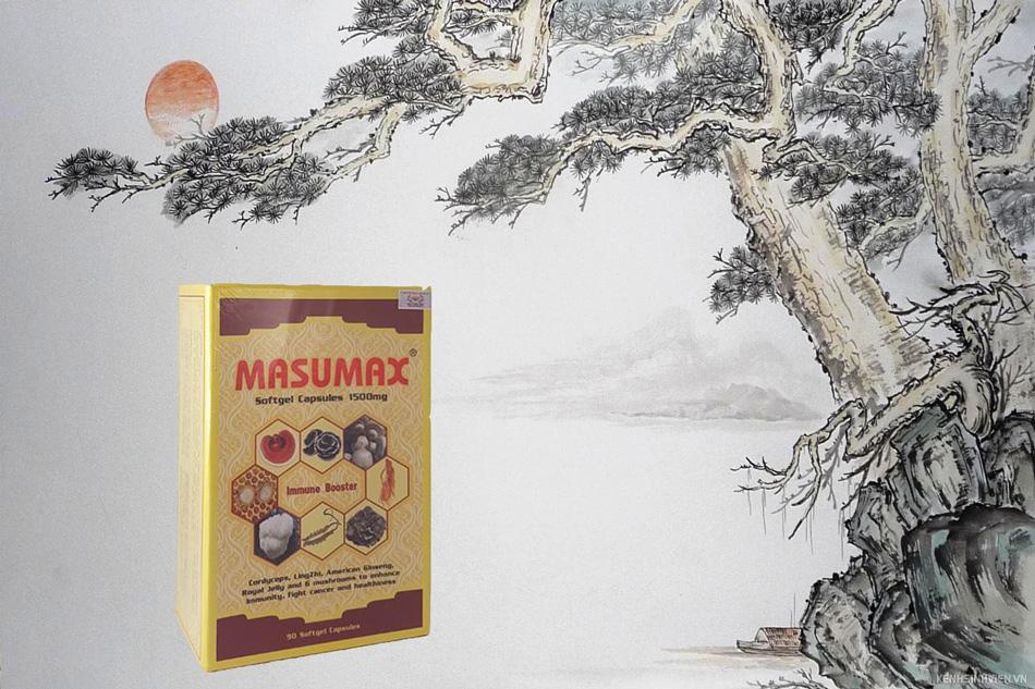 Viên uống tăng cường sức đề kháng Masumax