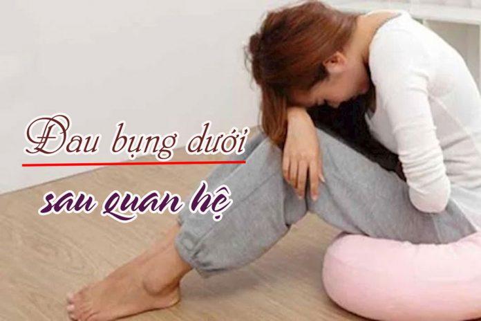 Đau bụng dưới rốn gây ra những cơn đau dai dẳng kéo dài