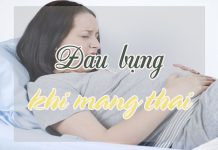 Hiện tượng đau bụng khi mang bầu