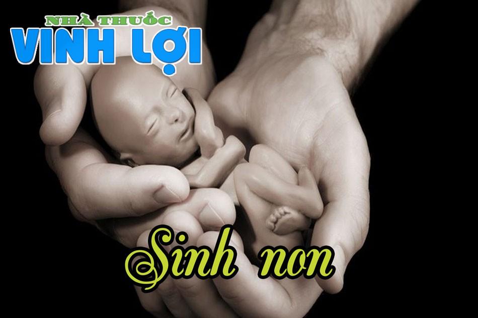 Sinh non là hiện tượng mẹ bầu hạ sinh thai nhi sớm hơn bình thường, thường từ tuần 37 trở đi