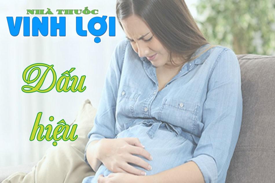 Dấu hiệu của đau bụng khi mang thai