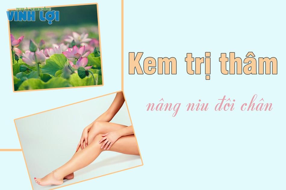 Sử dụng thuốc kem trị sẹo thâm ở chân lâu năm