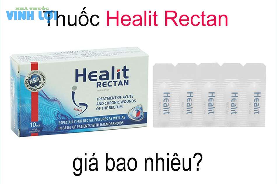 Thuốc Healit Rectan giá bao nhiêu?